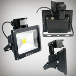 LED Floodlight 20W (PIR)